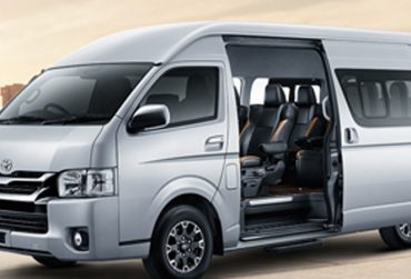 TOYOTA Hiace with Luggage