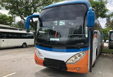 45 Seater Bus with Luggage