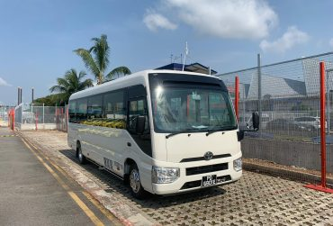 23 seater with Luggage